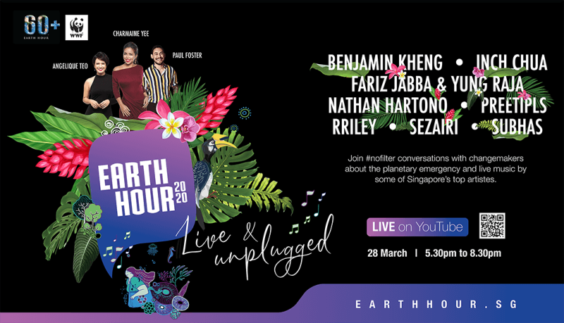 Earth Hour 2020 – Live and Unplugged