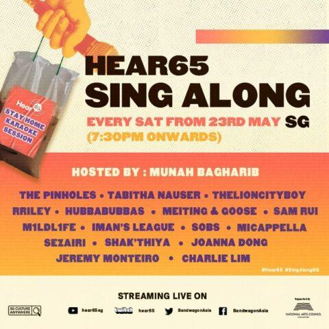 Hear65 Sing Along SG
