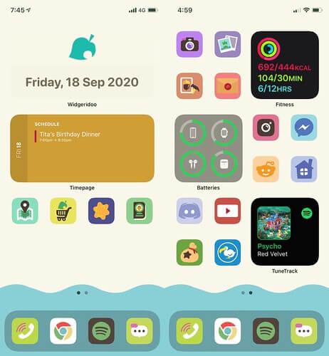 Animal Crossing Iphone setup