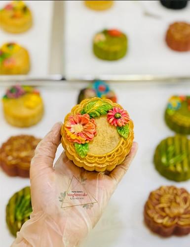 Floral Mooncake