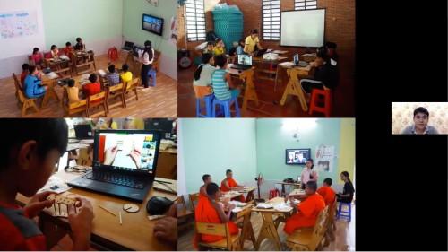 Online volunteering lessons