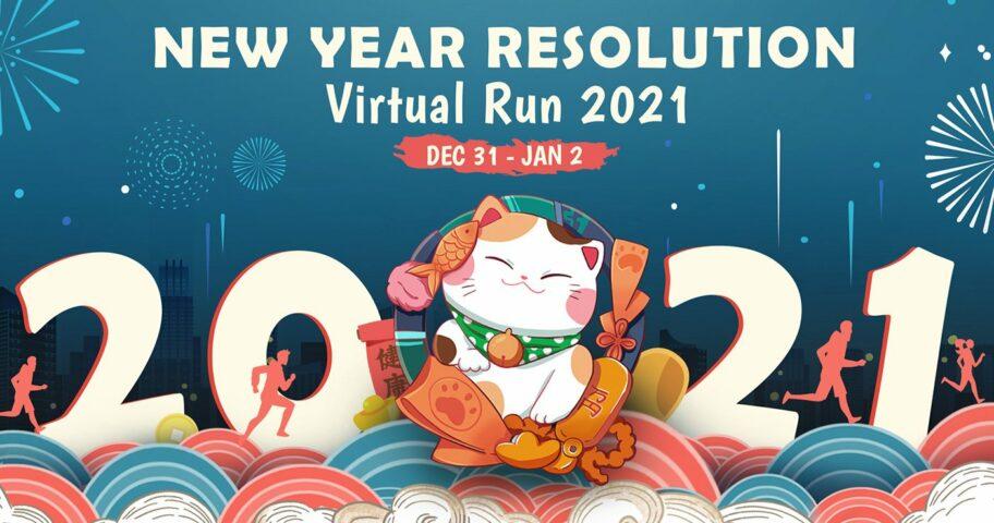 New Year Resolution Virtual Run 2021