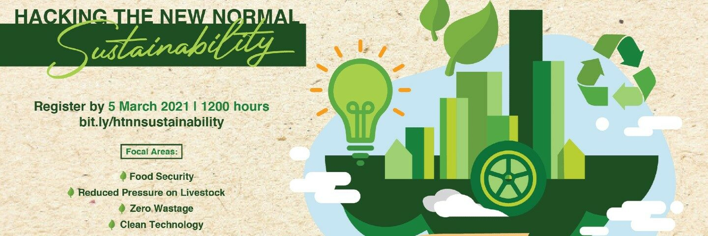 Hacking the New Normal: Sustainability