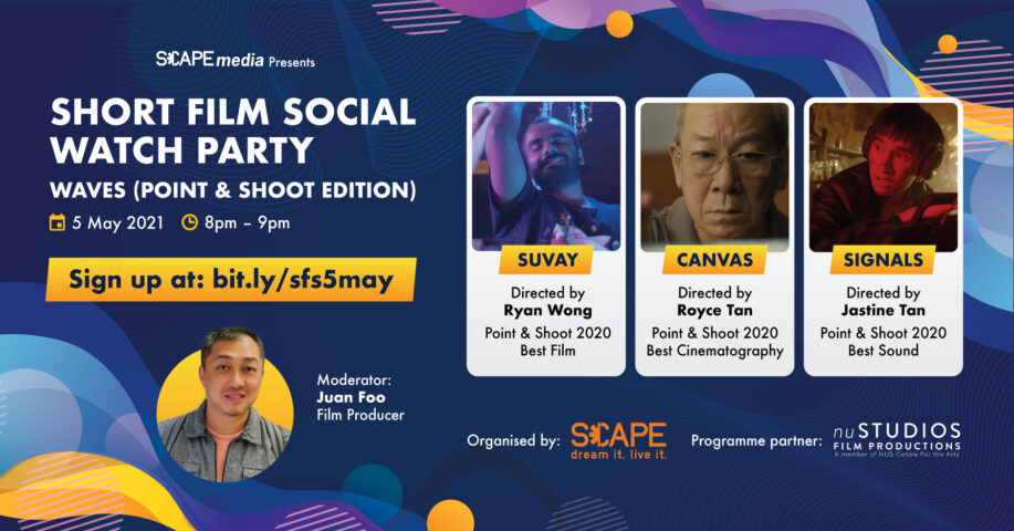Short Film Social Watch Party: Waves (Point & Shoot Edition)