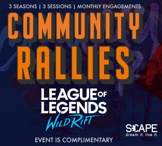 Community Rallies: Wild Rift