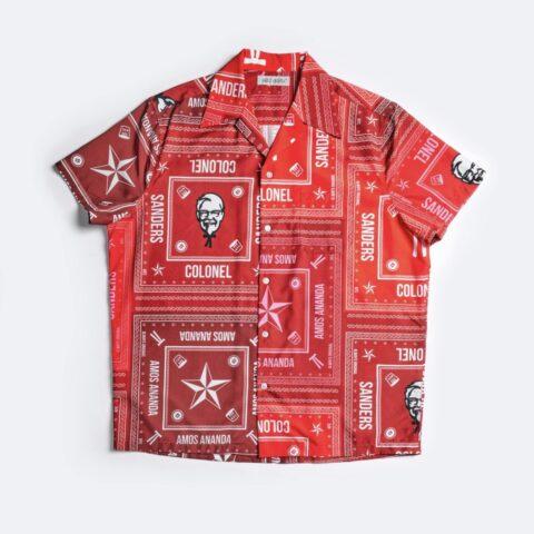 Colonel Sanders hawaiian shirt