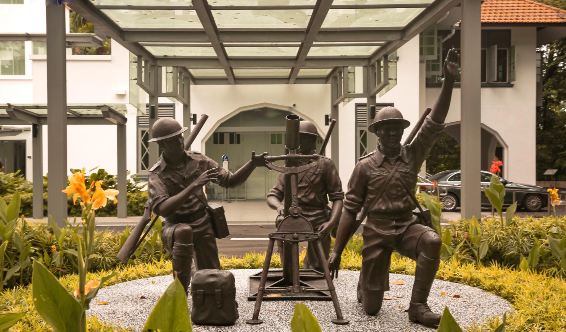 malay-regiment-sculpture