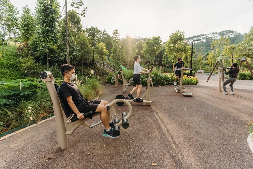 outdoot-fitness-area-bukit-gombak-park