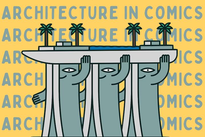Singapore Architecture in Art & Comics