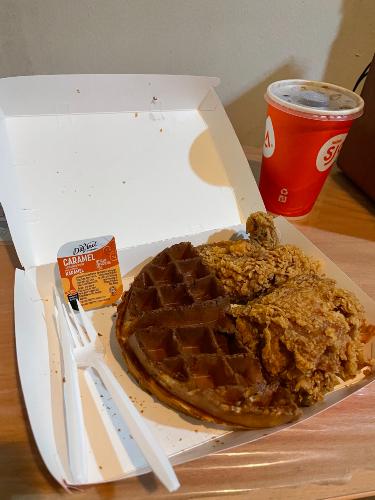 takeawa-box-of-kfc-chicken-and-waffles