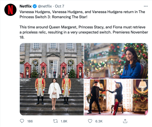 twitter-screenshot-reading-this-time-around-queen-margaret-princess-stacy-and-fiona-must-retrieve-a-priceless-relic-resulting-in-a-very-unexpected-switch-premieres-november-18