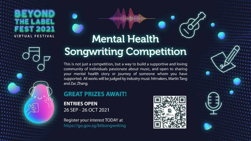 Beyond The Label Mental Health Songwriting Competition